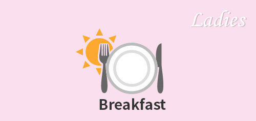 【Ladies ROOM】Breakfast Plan(For Women-Only)