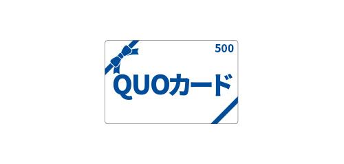 ビジネス応援QUOカード500円