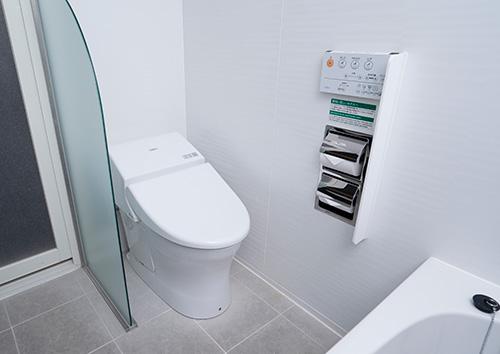 热水洗涤功能厕所