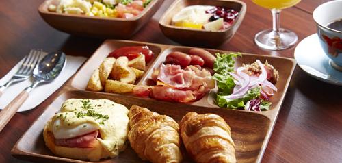 [日本和西洋的自助餐早餐]計劃